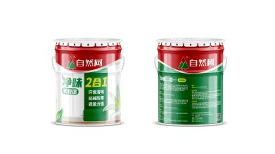 自然树油漆类包装设计