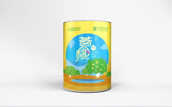 小润良品罐头包装