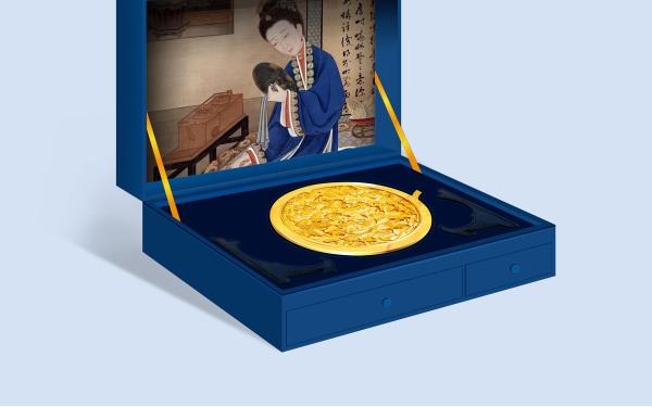 故宫铜镜礼盒文创产品包装设计
