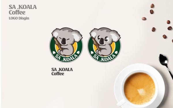 SA.KOALA咖啡 LOGO设计