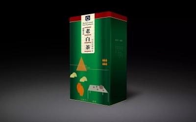 梧桐名品-老白茶包装设计