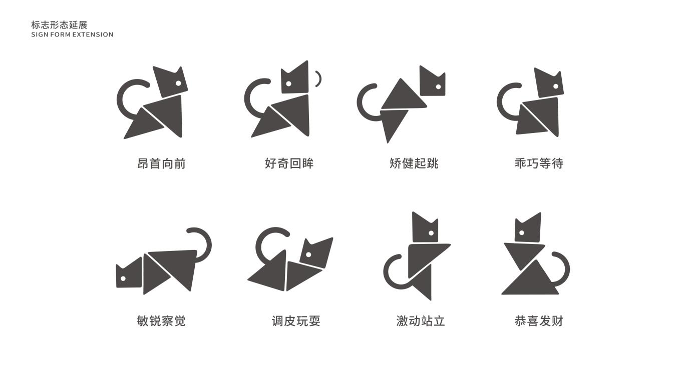 貓小怪家居百貨用品LOGO設計中標圖2