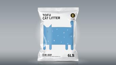 瑞德凯生物猫砂包装设计