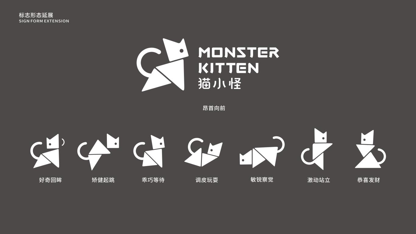 猫小怪家居百货用品LOGO设计中标图1