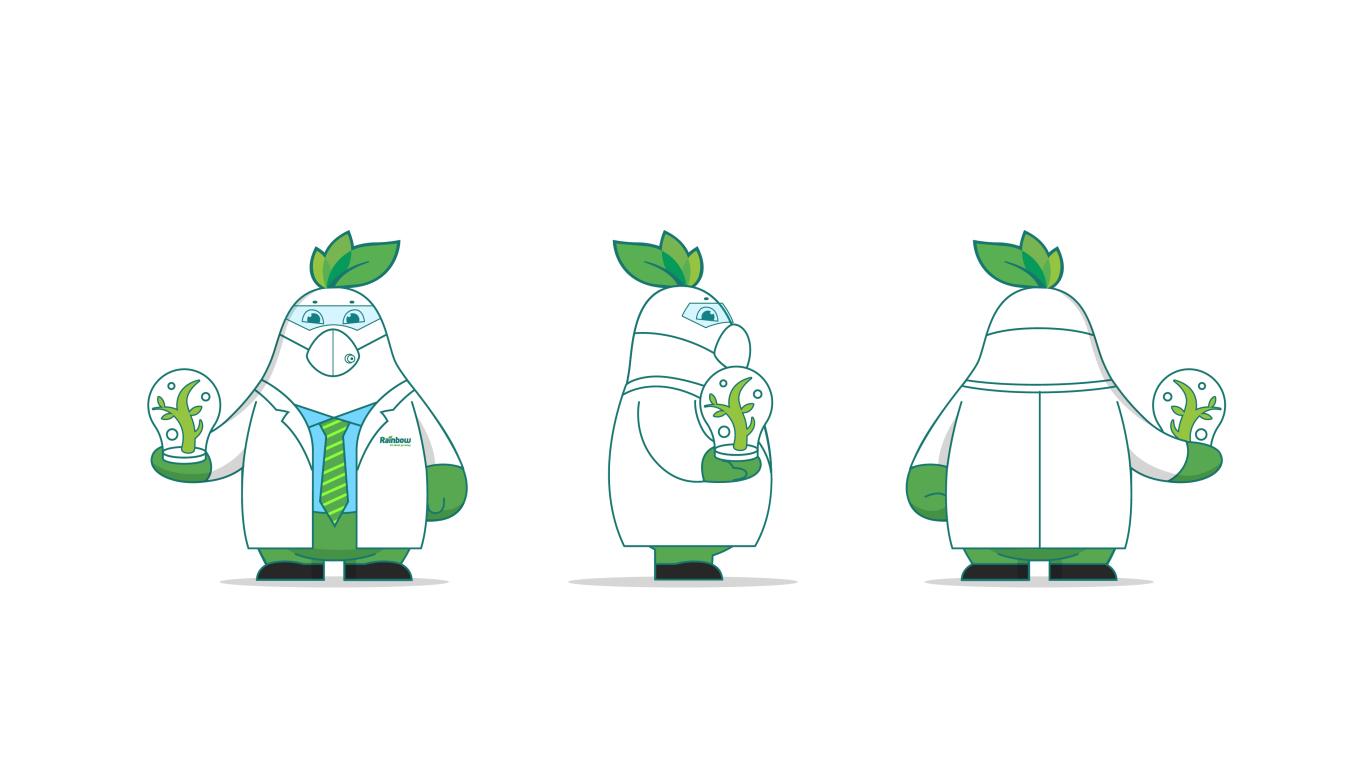 润丰化工类吉祥物设计中标图4