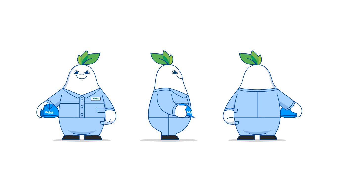 润丰化工类吉祥物设计中标图7