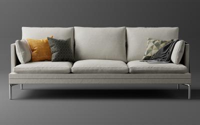家具沙发产品建模效果图