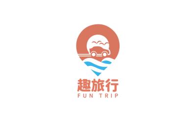 趣旅行-LOGO设计