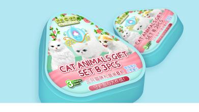 RECUR猫咪玩具包装延展设计