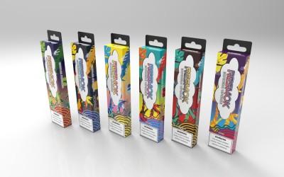 电子烟产品东南亚市场包装设计