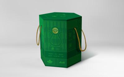 青岛啤酒礼盒包装设计