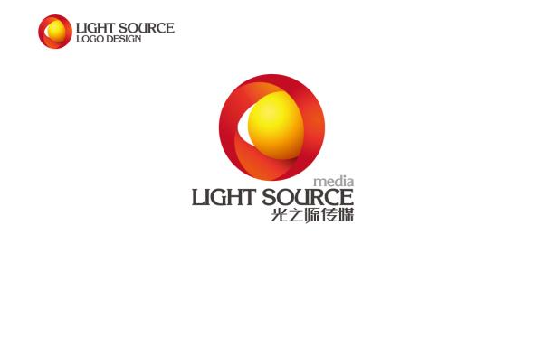中国贵州光之源文化传媒有限公司 LOGO设计