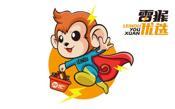 雷猴优选 吉祥物设计