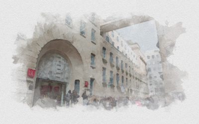 Digital watercolor of LSE