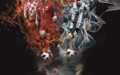 摆渡人清吧——世界杯宣传海报