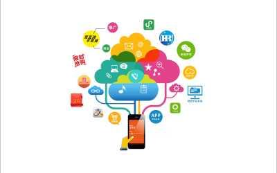 手机功能展示图