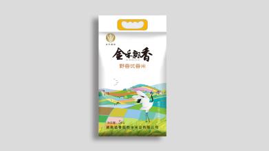 湖南溢香園怡豐米業有限公司米業包裝設計