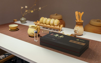 干海参礼盒包装设计