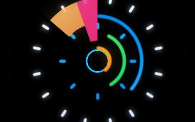 海尔智能手表开机动画
