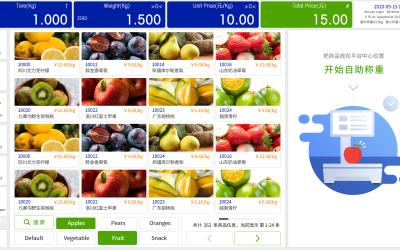 梅特勒托利多-超市条码秤UI