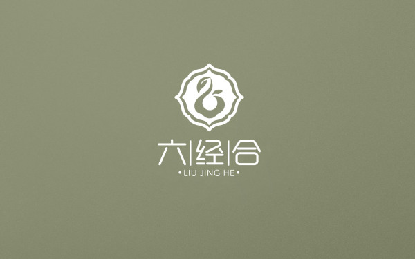 六经合logo设计