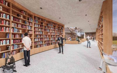 图书馆陈列空间设计