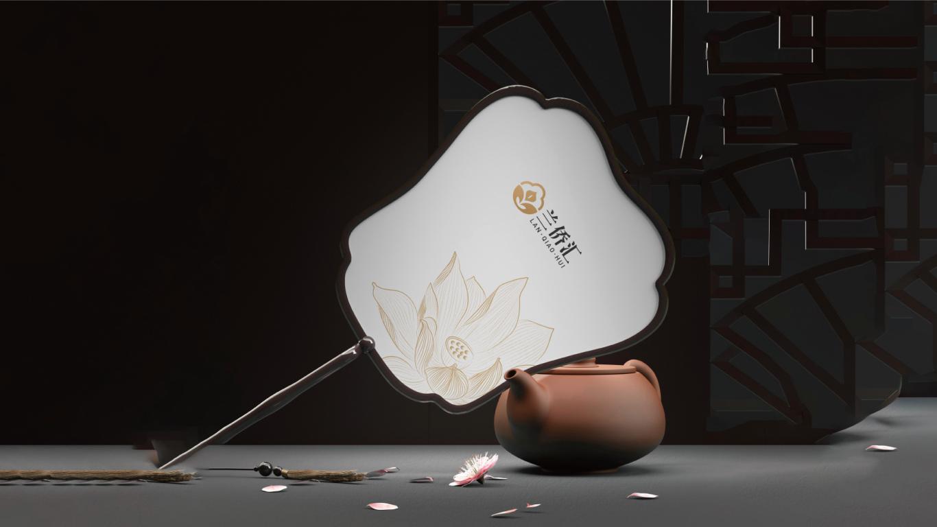 安徽斌峰六家畈酒店管理有限公司餐厅会所logo设计中标图9