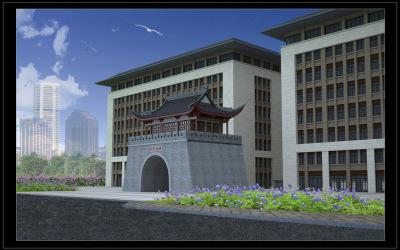 孔子酒业办公大楼外观设计