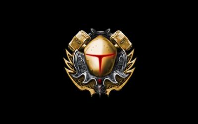 游戏风格的徽章