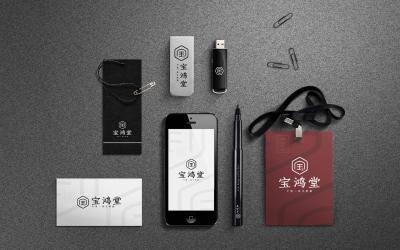 中医宝鸿堂品牌标识