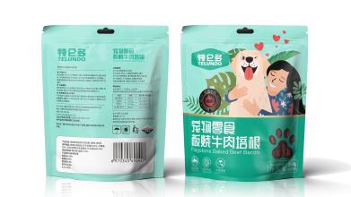 特伦多宠物零食包装设计