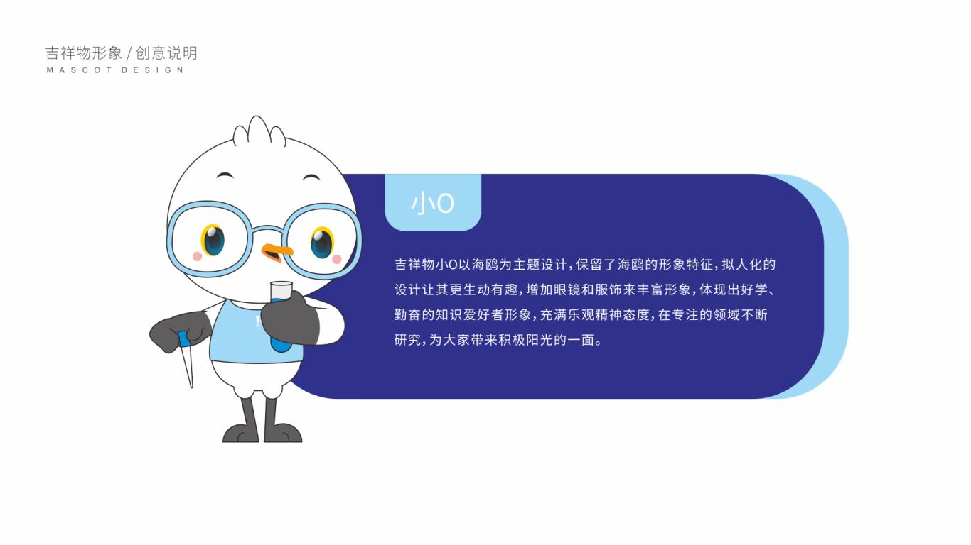 浩欧博生物医药品牌吉祥物设计中标图1