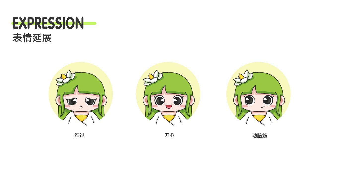 江淮侨乡六家畈卡通形象设计中标图2