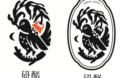 研酯品牌logo设计