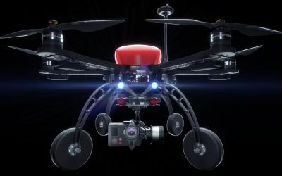 无人机三维产品动画