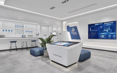 银行门店渲染图