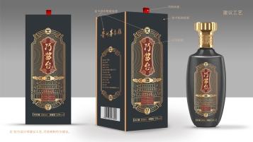 巧酱台高端传承白酒包装设计