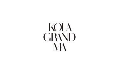 KolaGrandMa#面膜包裝設計