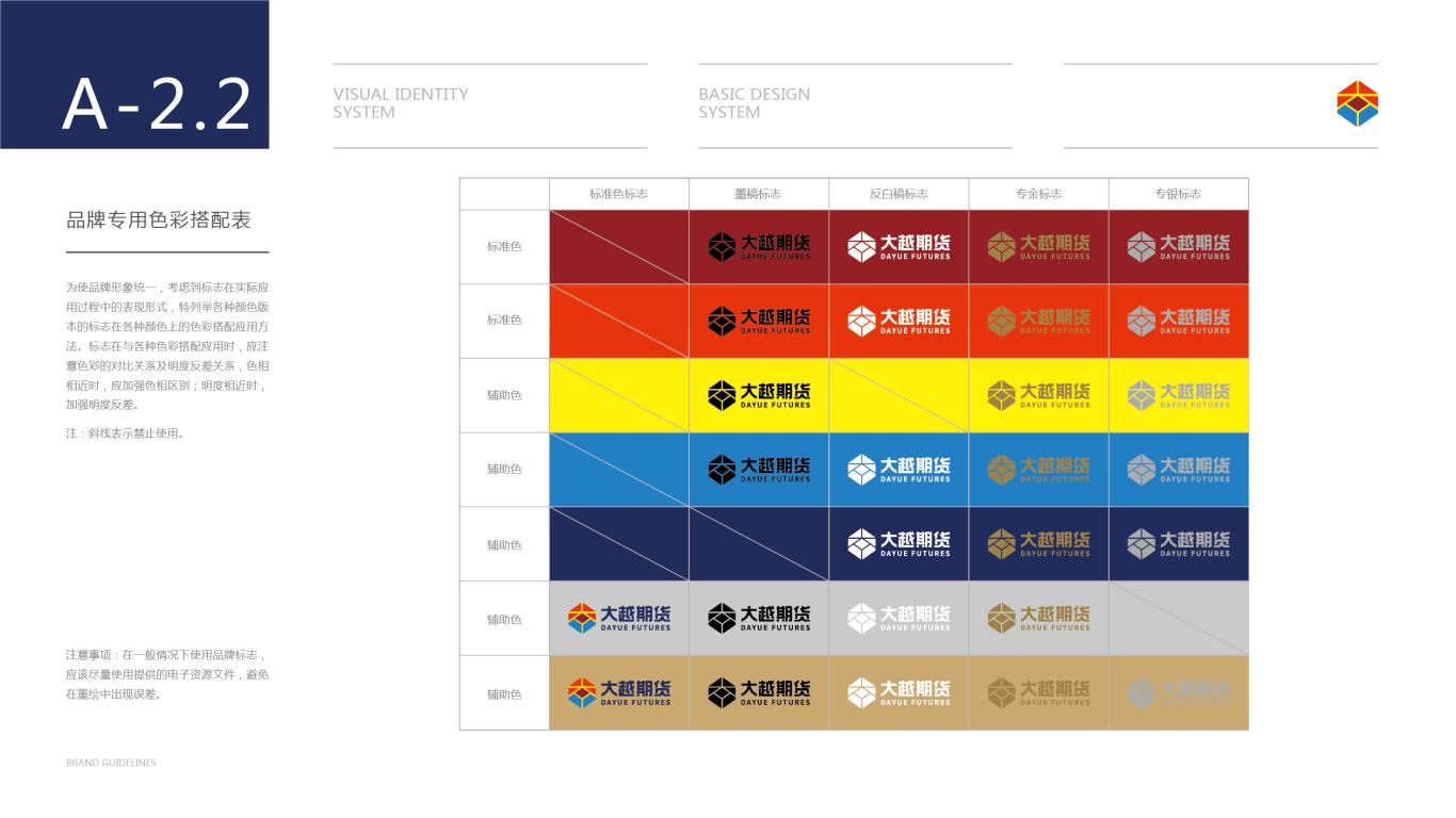 大越期货金融期货品牌VI设计中标图13
