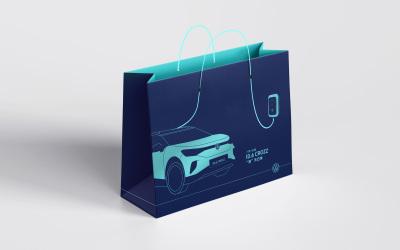 大众ID6新能源展会手提袋设计