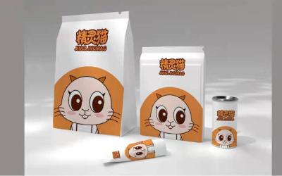 精灵猫食品包装设计