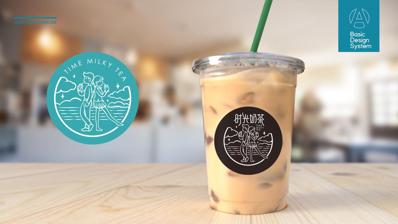时光奶茶品牌LOGO设计中标图6