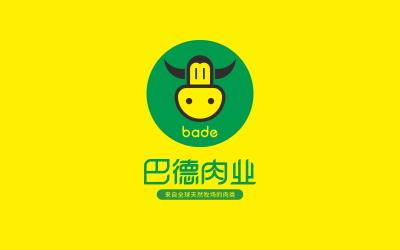 巴德肉业logo设计