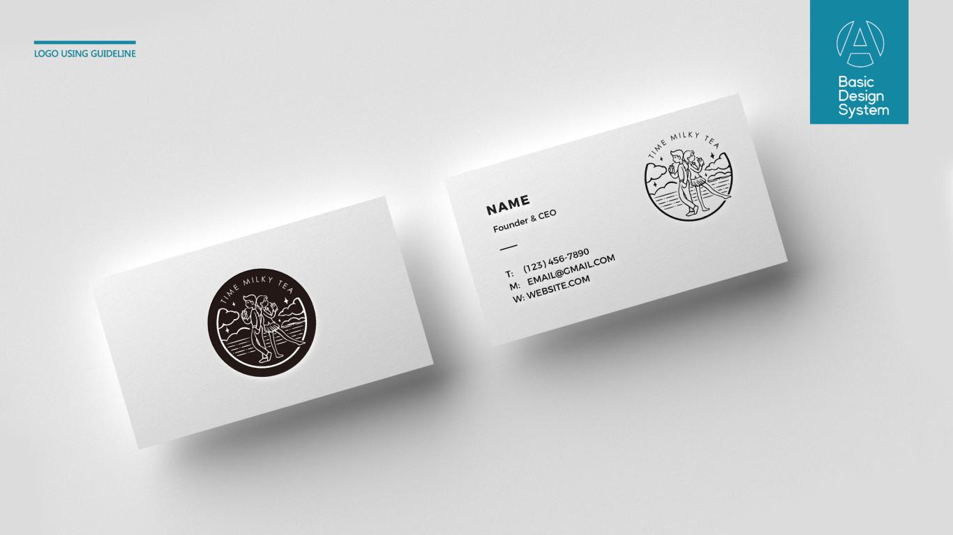 时光奶茶品牌LOGO设计中标图2