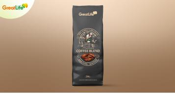 慢食尚进口咖啡豆类包装设计