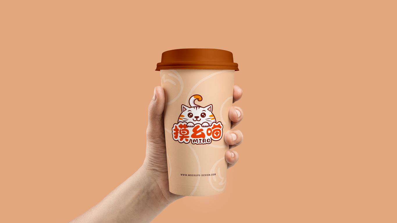 摸幺喵食品品牌LOGO设计中标图2