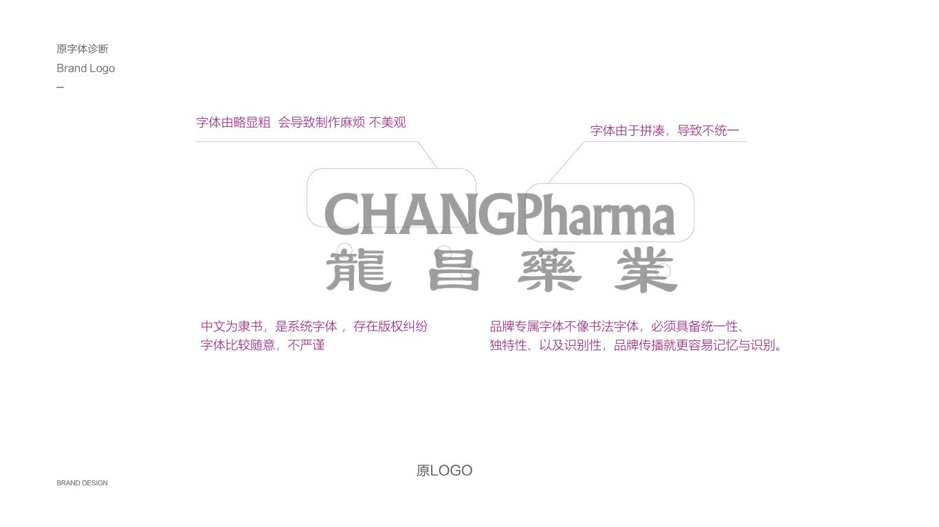 龍昌藥業医疗品牌LOGO设计中标图0