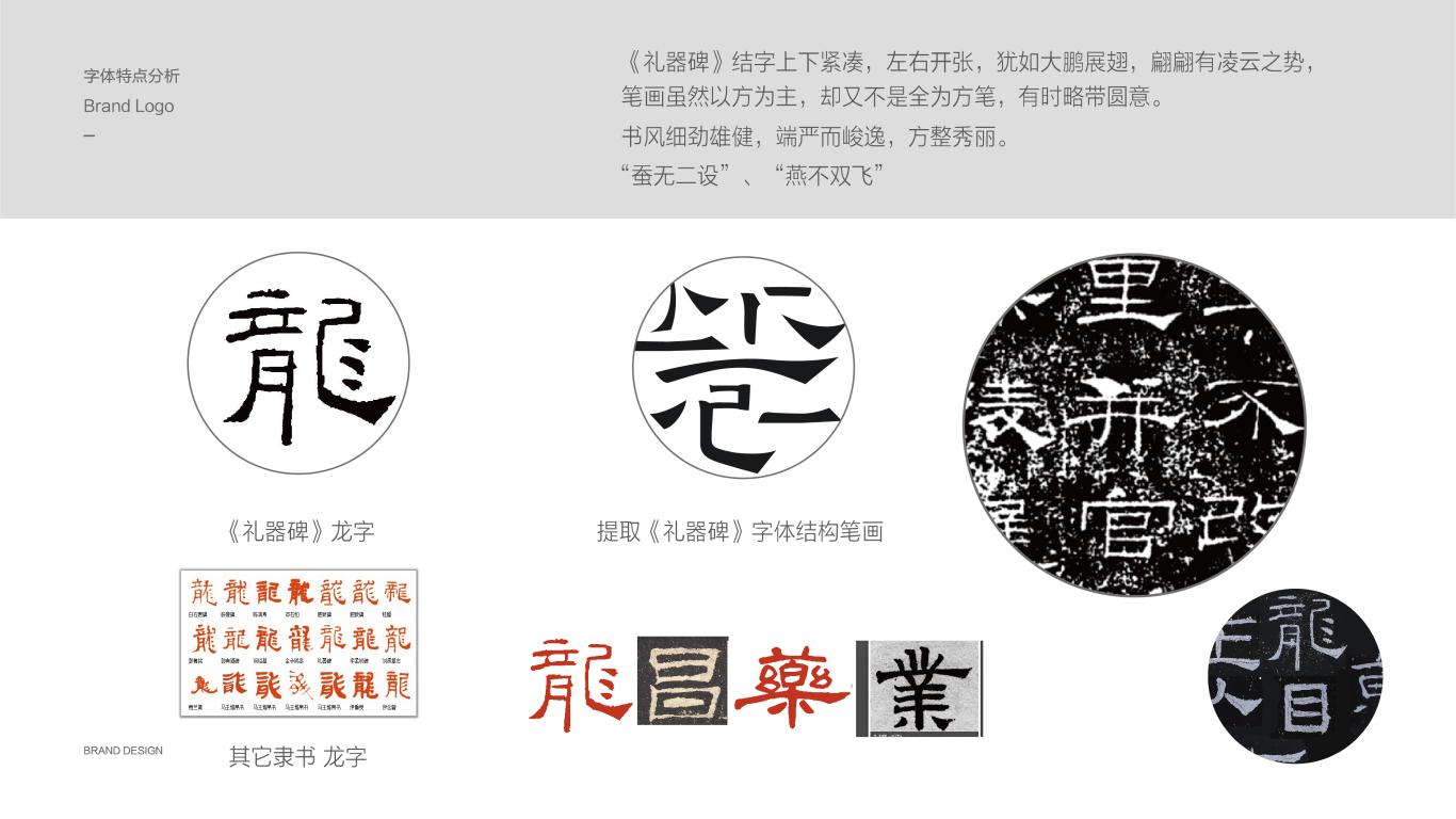 龍昌藥業医疗品牌LOGO设计中标图2