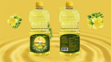 慢食尚芥花籽油类包装设计