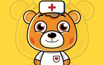 熊护士IP形象